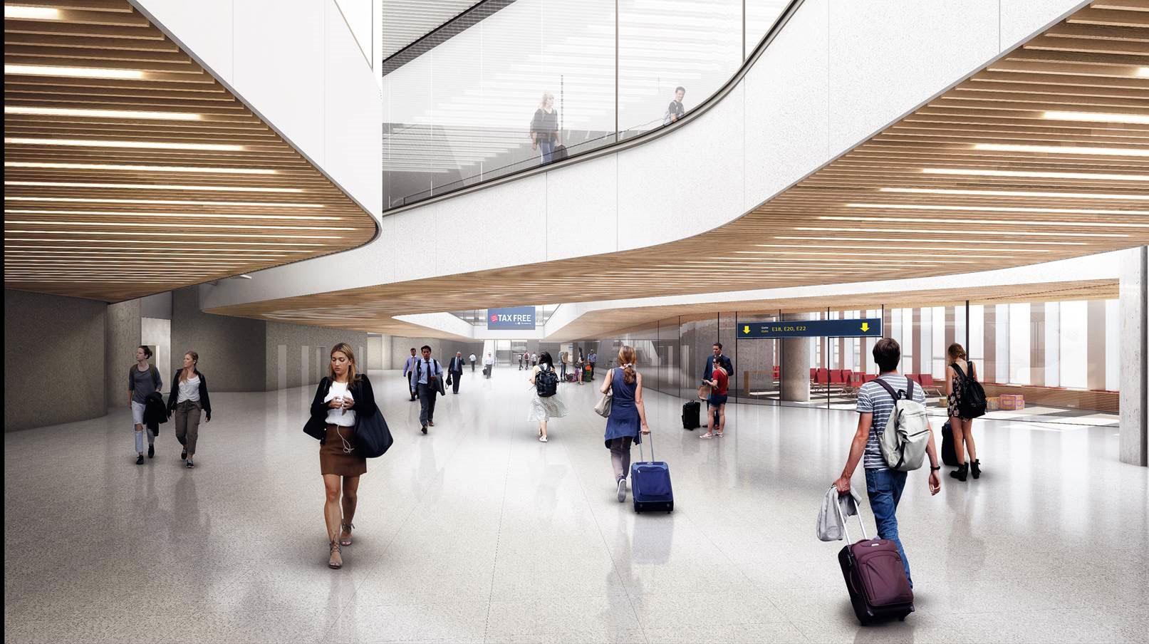 ZESO 航空规划 / 哥本哈根机场 Finger E 新航站楼