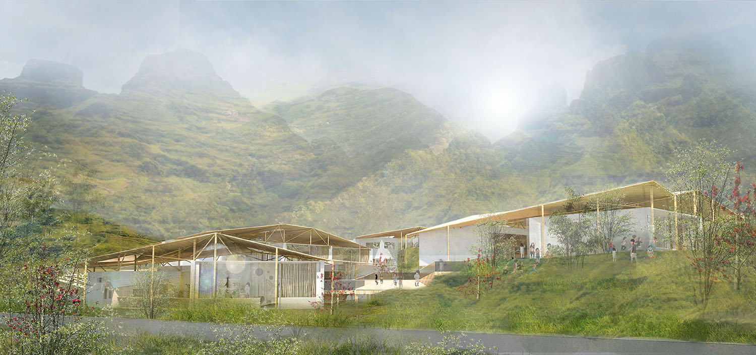 Panzhihua kindergarten zeso architects for Sichuan cendes architectural design company limited