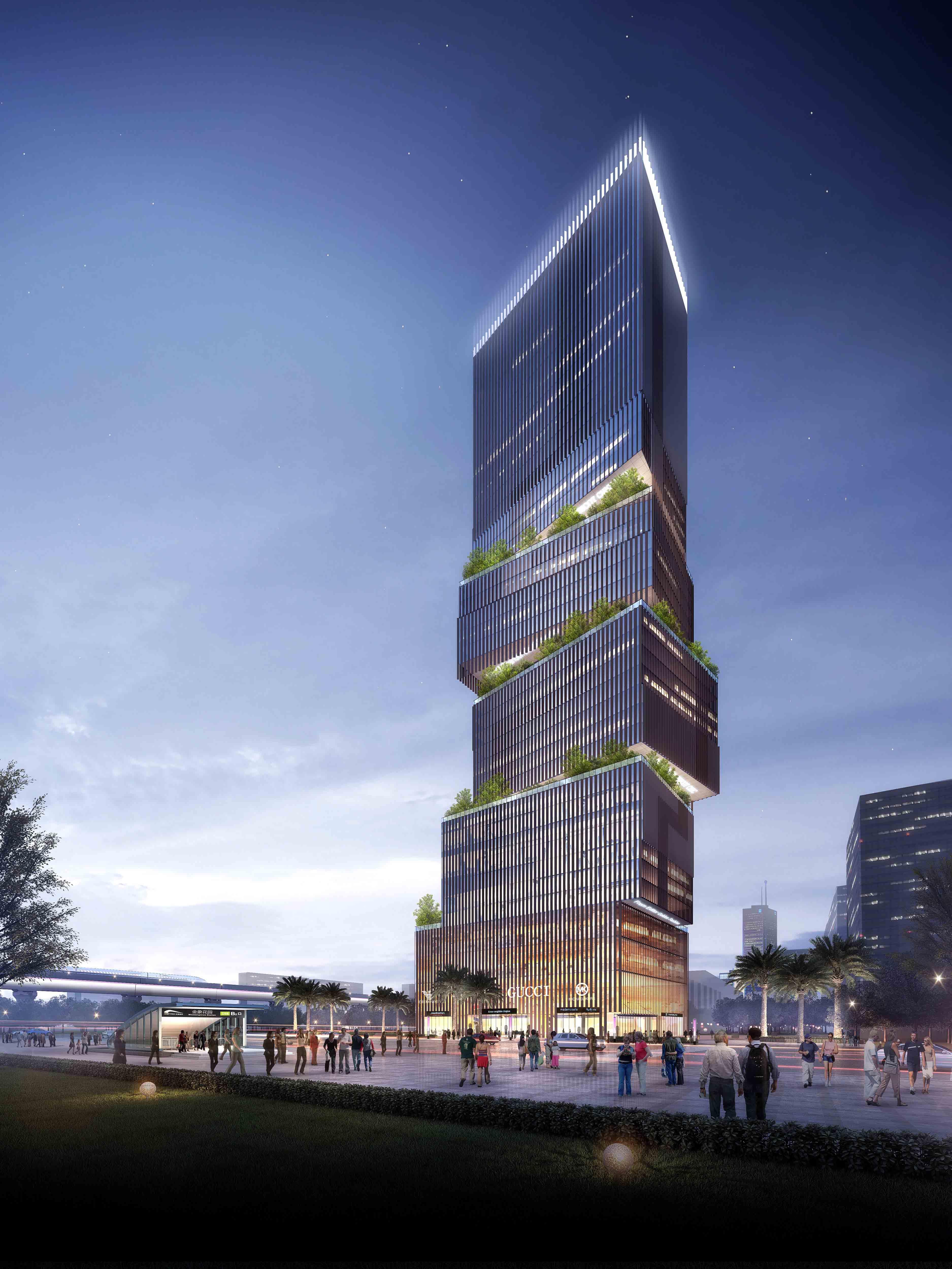 Highrise Cbd Zeso Architects