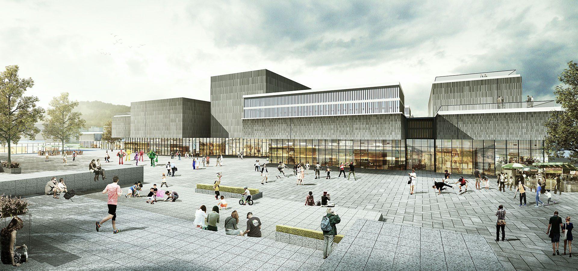 ZESO CHINA / Xianzhou Cultural Center