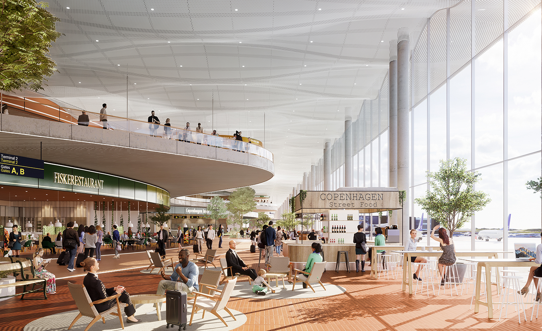 ZESO 交通与规划 / 哥本哈根机场T3航站楼扩建